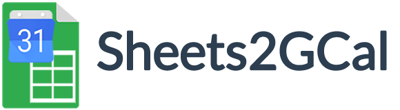Sheets2GCal